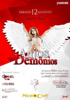 panfleto Anjos & Demônios