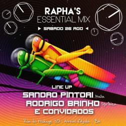 panfleto DJs Sandro Pintori, Rodrigo Brinko e convidados