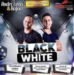 panfleto Black & White - André Lima e Rafael