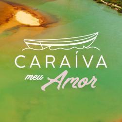 panfleto Réveillon #CaraívaMeuAmor