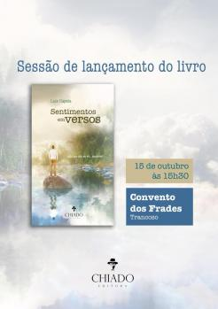 panfleto Apresentação do Livro 'Sentimentos Em Versos'