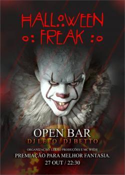 panfleto Halloween Freak