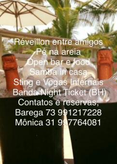 panfleto Sting e Vogas Infernais, Samba InCasa, Night Ticket