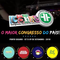 panfleto CONAC & CONES 2018 - 12ª edição