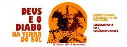 panfleto 'Deus e o Diabo na Terra do Sol'