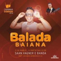panfleto Balada Baiana