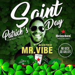 panfleto Saint Patrick's Day - Mr Vibe