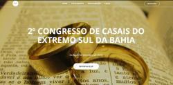 panfleto 2° Congresso de Casais do Sul da Bahia