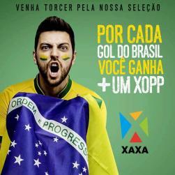panfleto Brasil x Suíça