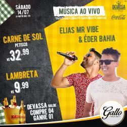 panfleto Elias Mr Vibe e Éder Bahia