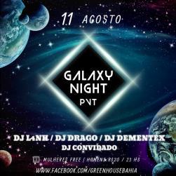 panfleto Galaxy Nigth PVT