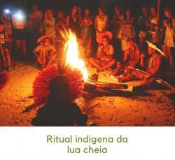 panfleto Ritual indigena Pataxó da Lua Cheia