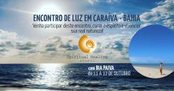panfleto Encontro de Luz em Caraíva