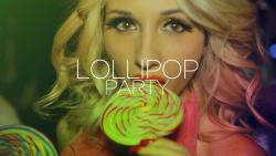 panfleto LolliPop Party