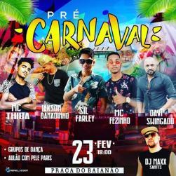 panfleto Pré Carnaval