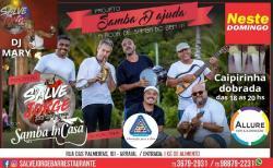 panfleto Samba InCasa + Dj Mary