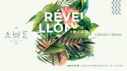 panfleto AWÊ - Réveillon Caraíva 2020