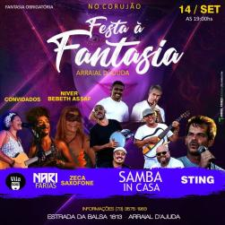 panfleto Festa a Fantasia