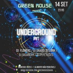 panfleto Underground PVT