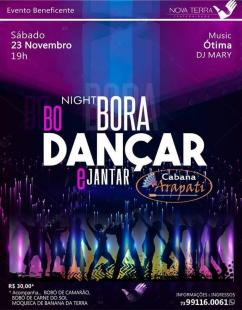 panfleto Bora Dançar & Jantar