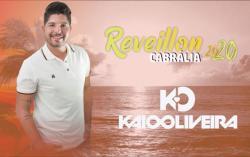 panfleto Réveillon Cabrália 2020 - Kaio Oliveira