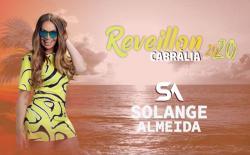 panfleto Réveillon Cabrália 2020 - Solange Almeida