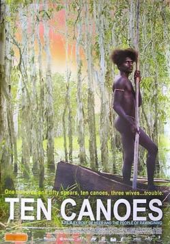 panfleto '10 Canoe'