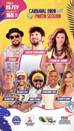 panfleto SAULO FERNANDES + Pierre + Cheiro de Amor