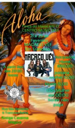 panfleto Festa Do Havaí