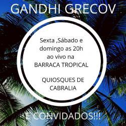 panfleto Gandhi Grecov & convidados
