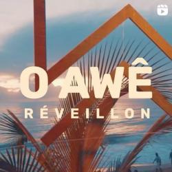 panfleto AWÊ Pré-Reveillon com Caraivana