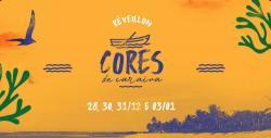 panfleto Cores de Caraíva - Entre Rio e Mar