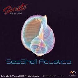 panfleto Seashell Acústico