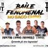 panfleto Baile Fenomenal no Saco Cheio - MC Livinho + Papazoni