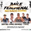 panfleto Baile Fenomenal no Saco Cheio - Parangolé + André Lima & Rafael