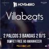 panfleto Villa Beats