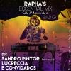 panfleto DJs Sandro Pintori, Lucreccia e convidados