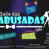 panfleto Baile das Abusadas LGBT