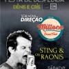 panfleto Festa de despedida Cris e Dênis - Sting e os Raonis