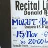 panfleto Recital lírico - Donald Bertão