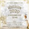 panfleto Réveillon La Plage 2020