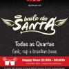 panfleto Baile da Santa