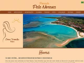 panfleto Pele Morena Praia Hotel