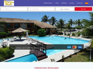 panfleto Porto Bali Hotel