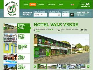 panfleto Hotel Vale Verde