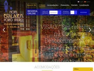 panfleto Hotel Estalagem Porto Seguro