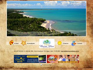 panfleto Beira Mar Praia Hotel
