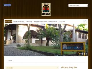 panfleto Hotel Pousada Antares