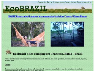 panfleto Ecobrasil - Eco Camping