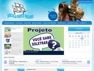 panfleto Escola Porto Seguro